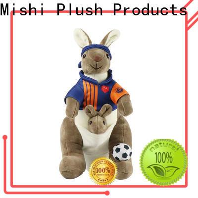 Mishi plush toys with custom logo for presents