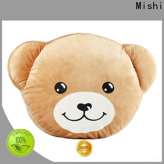 Mishi top plush cushion covers supply for presents