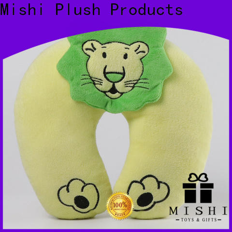 wholesale plush travel pillow company for gifts