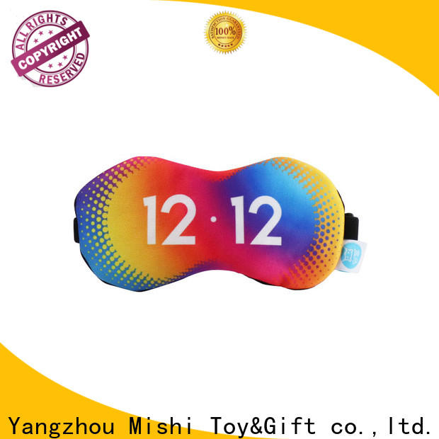 Mishi wholesale personalised eye mask with custom printing for sale