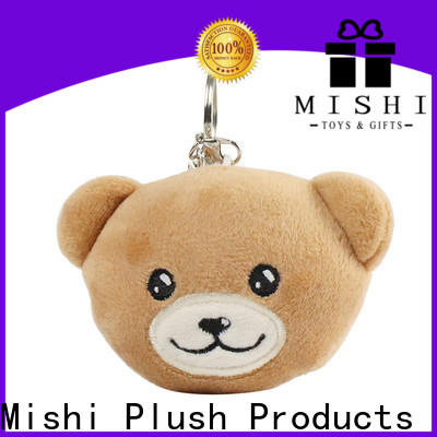 Mishi latest stuffed keychain factory for sale