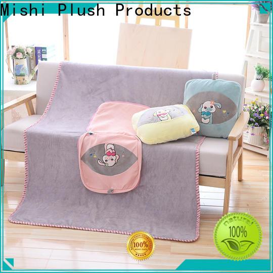 Mishi plush blanket wholesale factory for living room