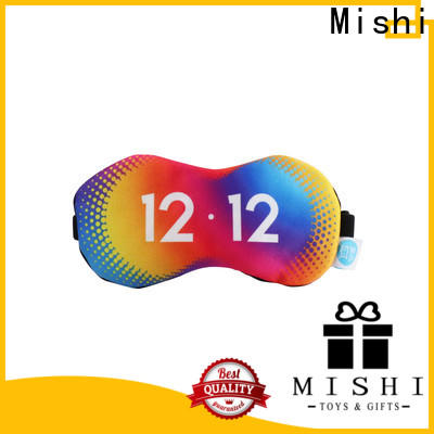 Mishi personalised eye mask manufacturers for sleeping
