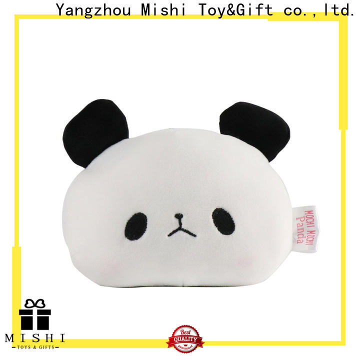 Mishi new plush wallet with custom logo for business