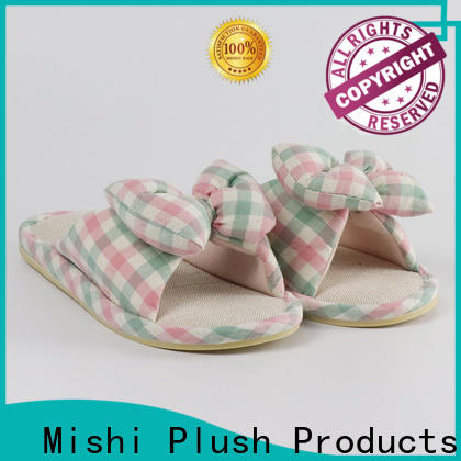 Mishi plush indoor slippers supply for gifts