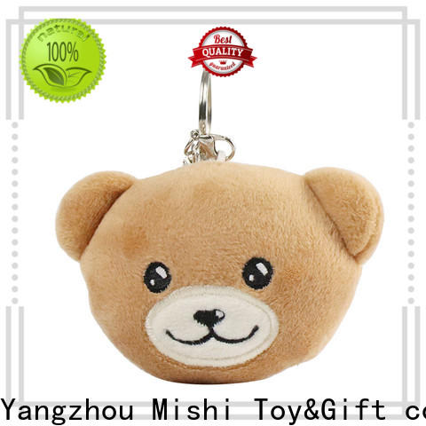 Mishi plush toy keychain supply for presents
