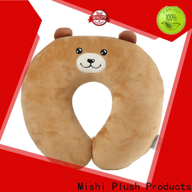 new plush travel pillow supply for sleeping