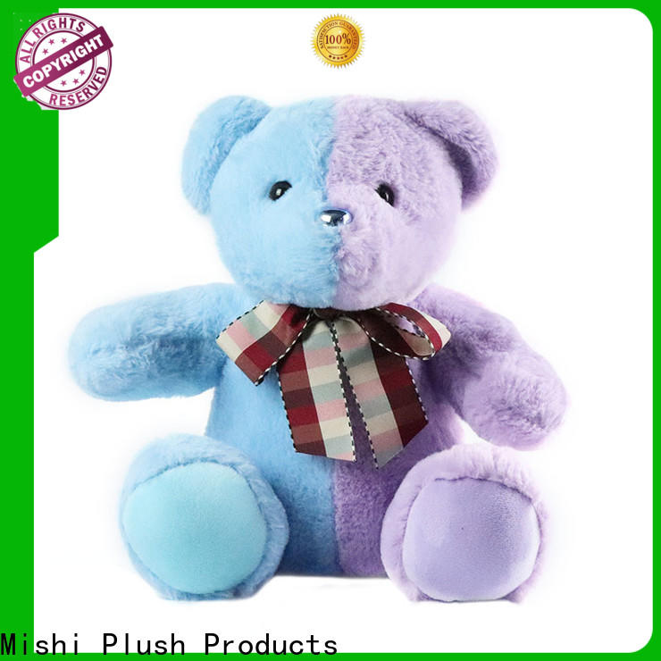 Mishi hippo bulk plush toys with hoodies for business