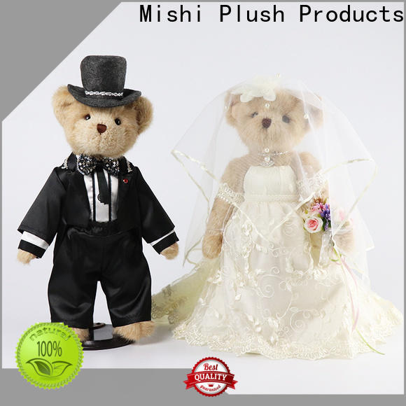 Mishi custom plush toy with t shirts for gifts