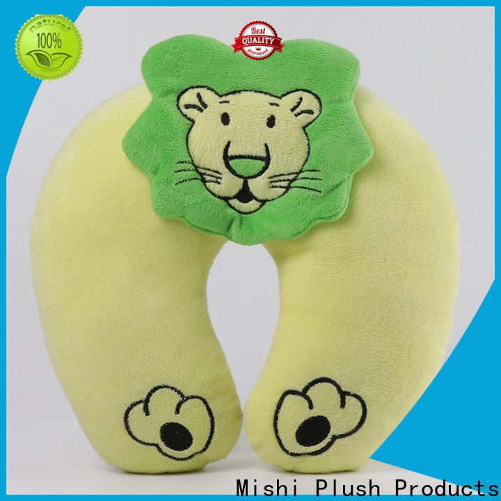 Mishi latest fluffy neck pillow factory for sleeping