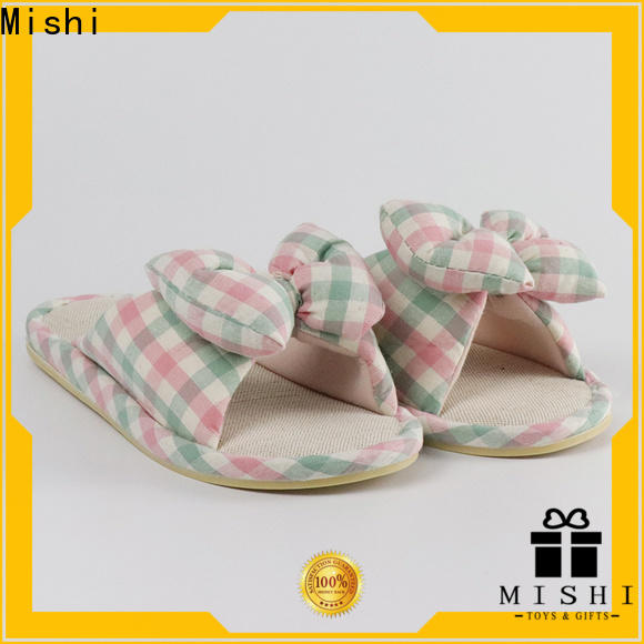 top custom plush slipper supply for home