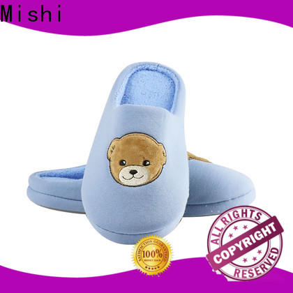 Mishi latest plush indoor slippers suppliers for gifts