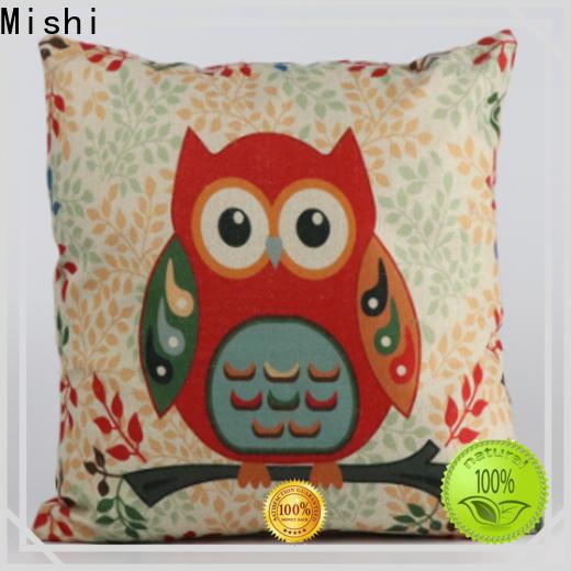 Mishi custom plush cushion company for presents