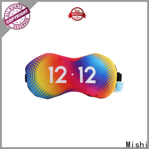 Mishi printing eye mask with logo for sale