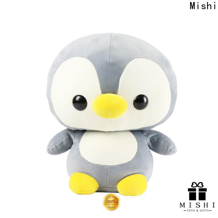 Mishi hippo custom plush toys company for presents