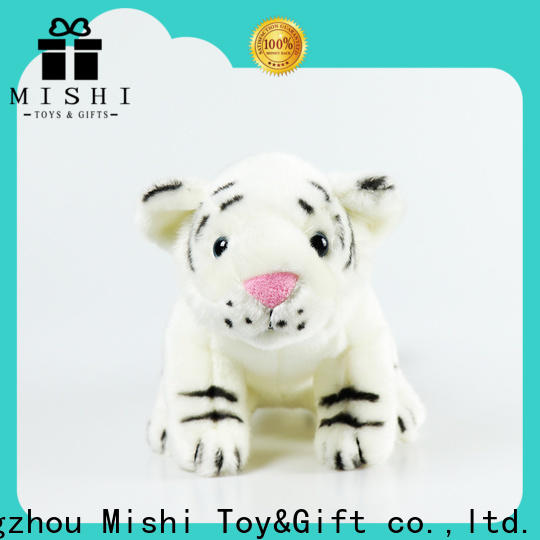 Mishi cheap plush toys with custom logo for sale