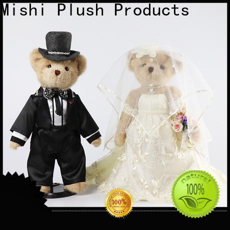 Mishi custom plush toy with hoodies for gifts
