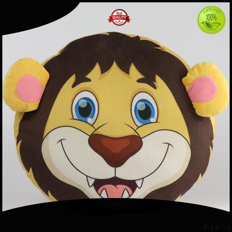 Mishi cartoon plush cushion covers manufacturers for living room