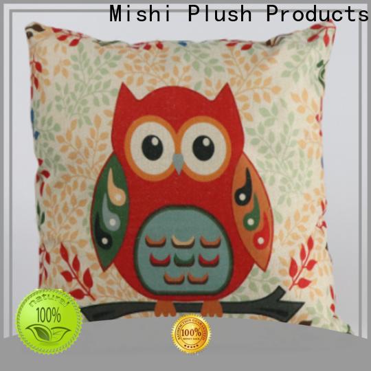 Mishi plush cushion company for gifts
