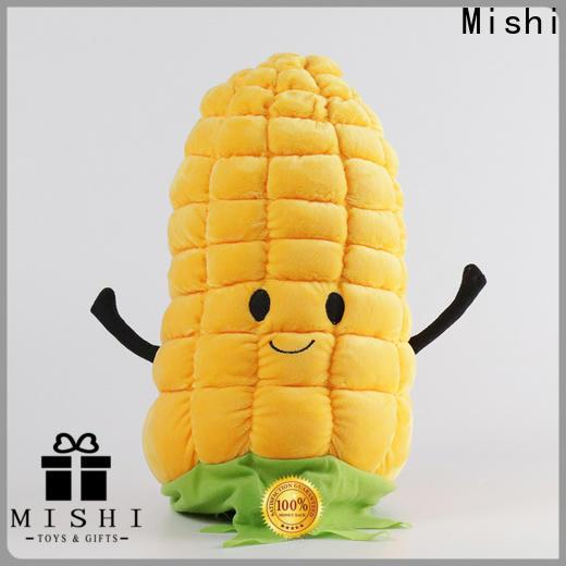 Mishi custom plush cushion manufacturers for presents