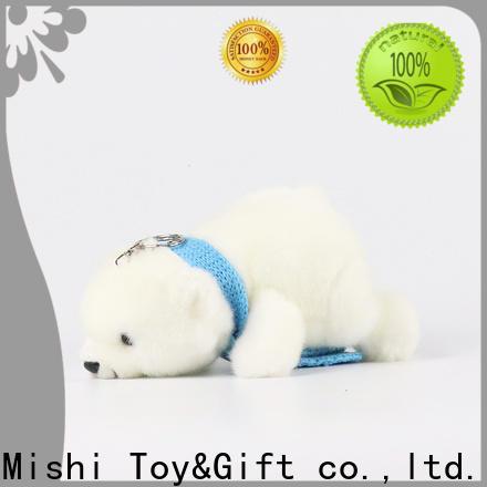 Mishi bulk plush toys with custom logo for presents