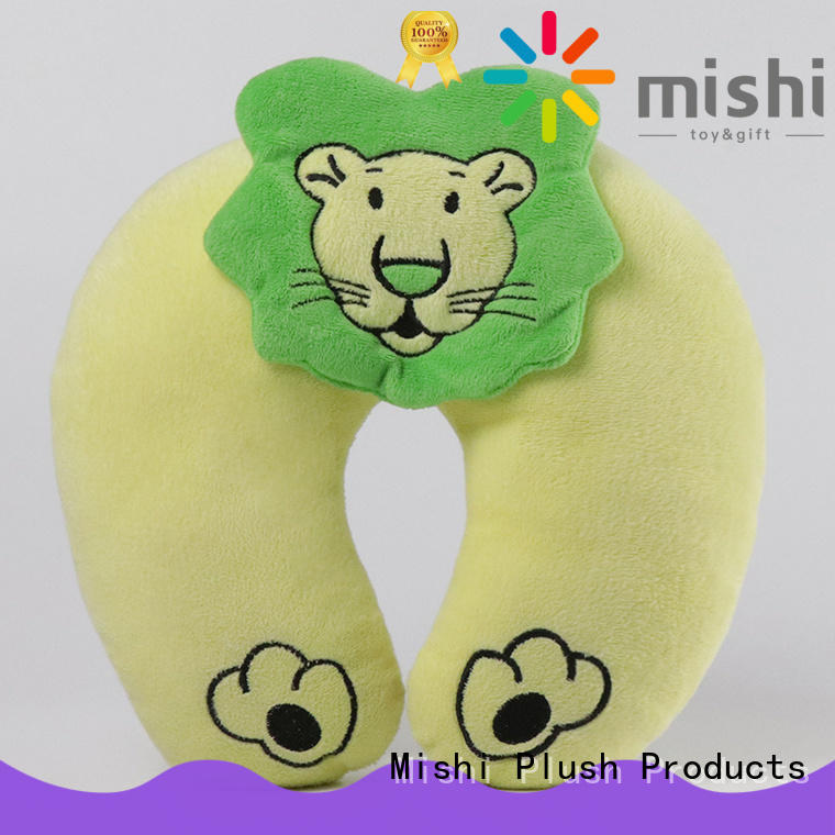 Mishi best fuzzy neck pillow manufacturers for sale