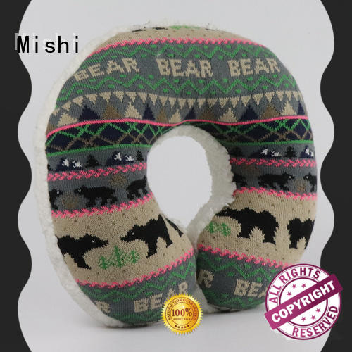 Mishi hot sale plush neck pillow manufacturers for sale