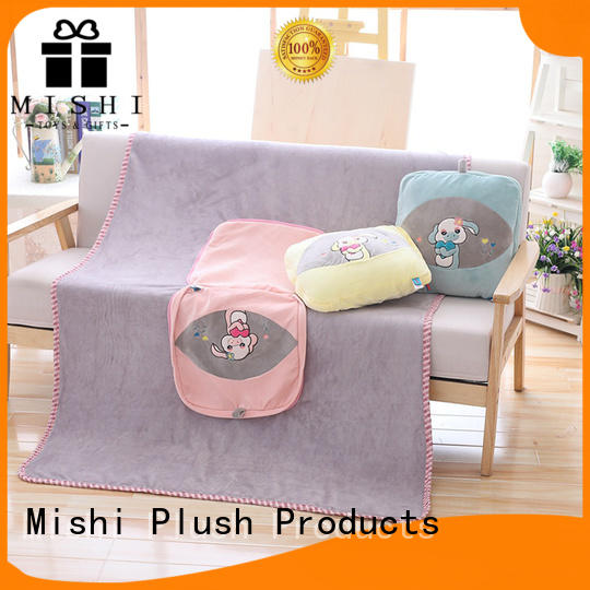 Mishi plush blanket wholesale suppliers for gifts
