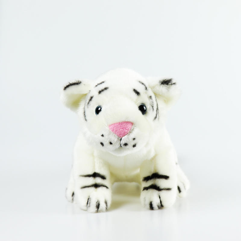 Tiger Stuffed Animal Toys Gift Plush White Tiger Animal Baby Doll