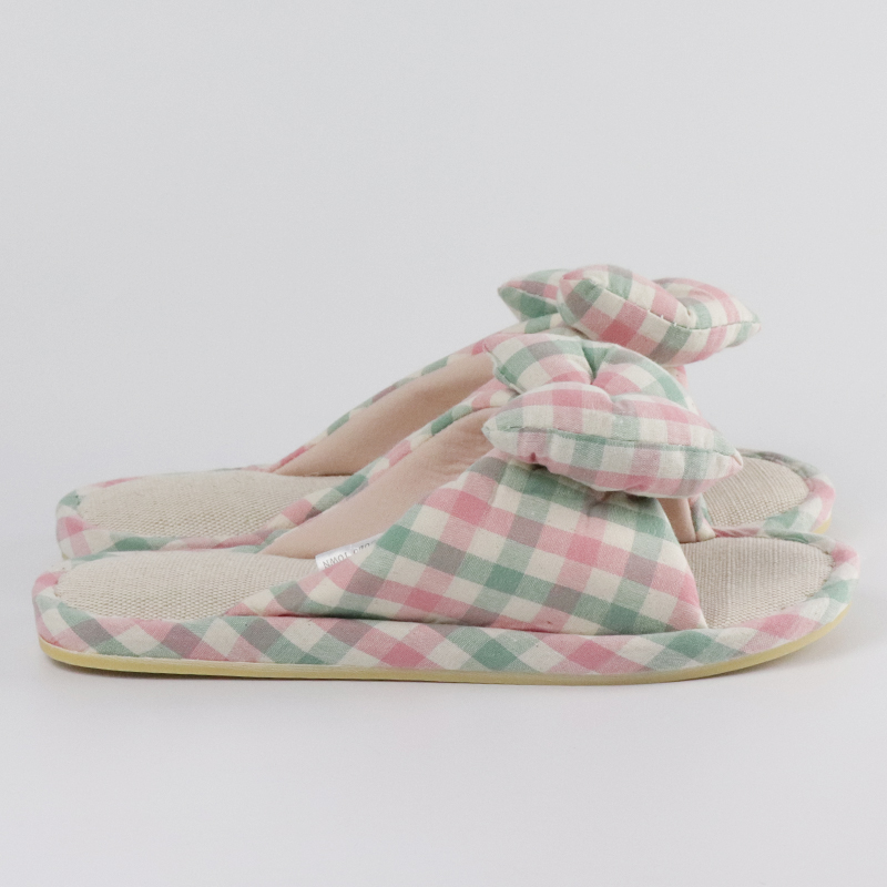 Mishi plush slipper factory for sale-2