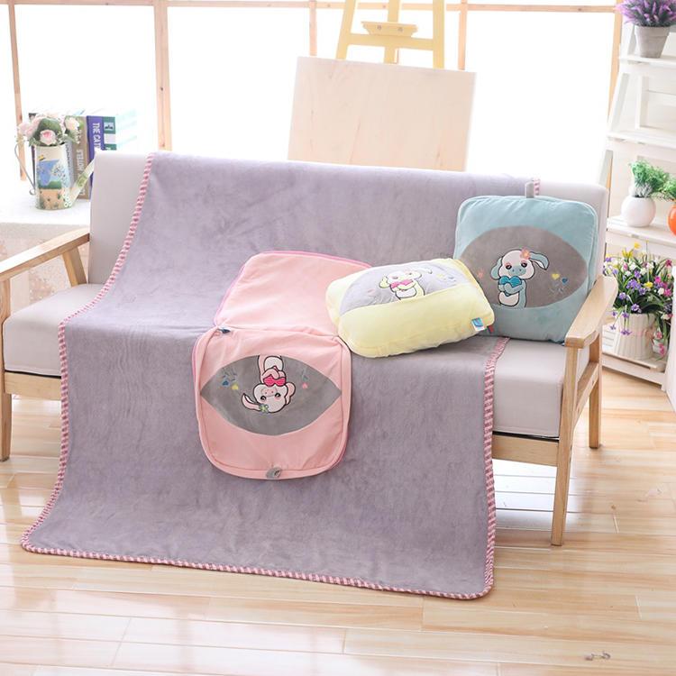 創造的な枕ぬいぐるみポリ厚い重いフリース毛布中国工場