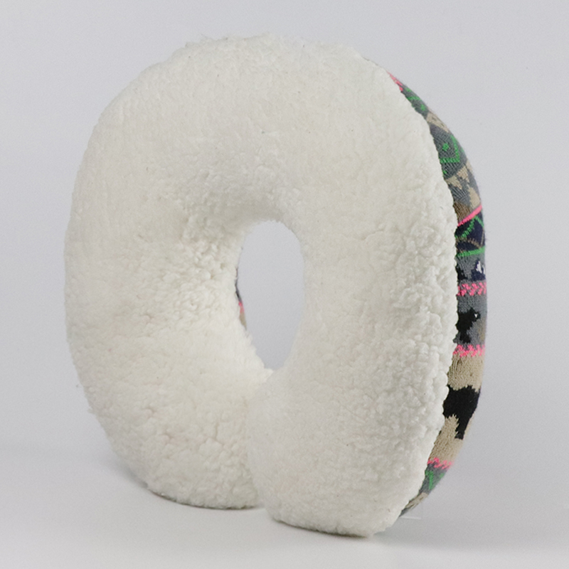 Mishi new fluffy neck pillow with logo for gifts-1