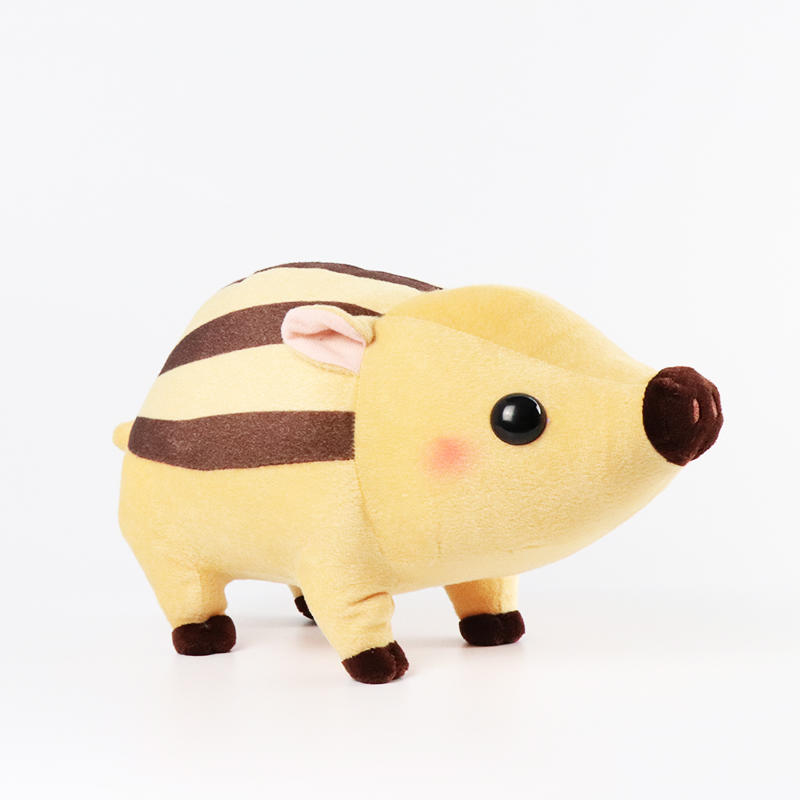 Wild boar Stuffed Animal Toys Gift Plush Pig Baby Doll Wholesale