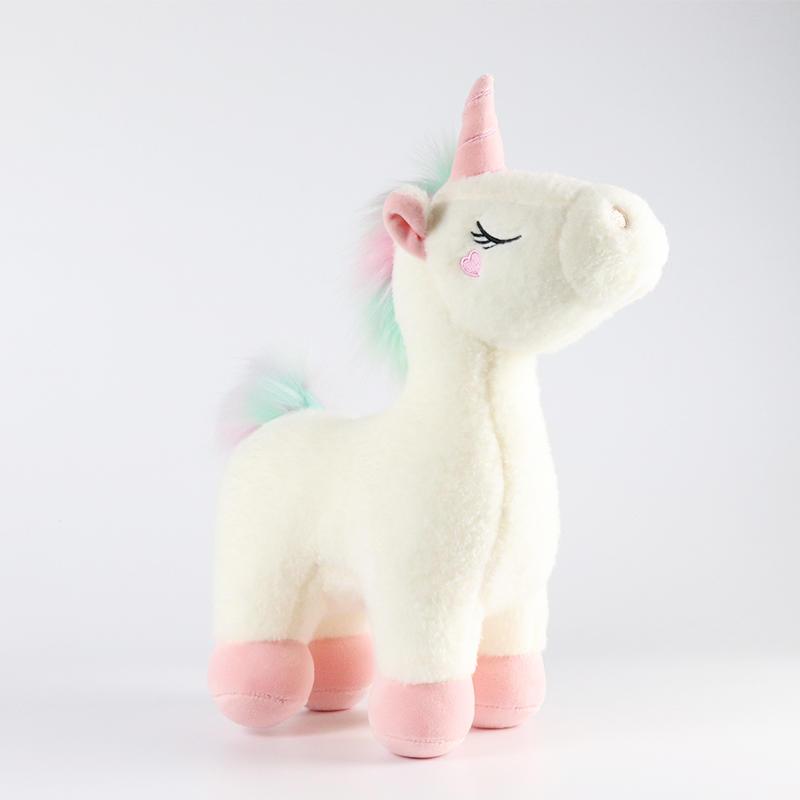 ソフトぬいぐるみ馬ぬいぐるみガールフレンドのためメーカーユニコーンのおもちゃ
