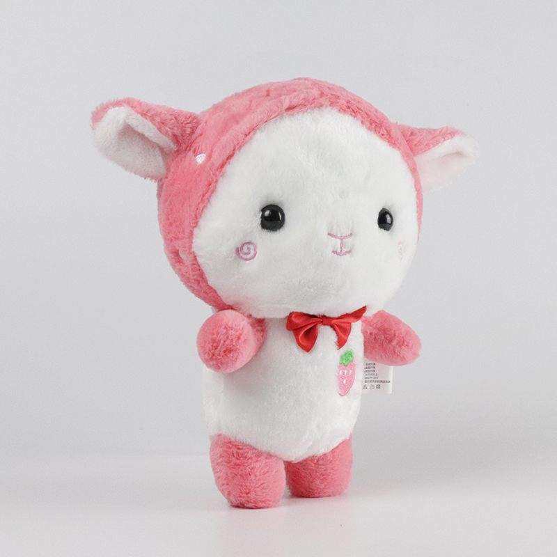 Mishi funny plush toys with hoodies for gifts-2