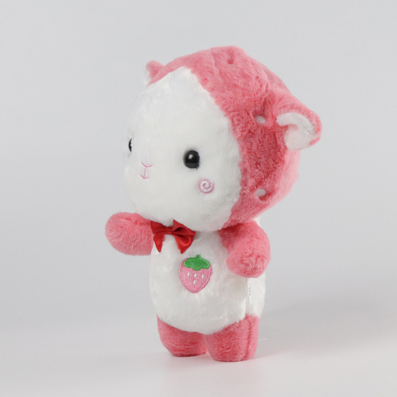 Mishi funny plush toys with hoodies for gifts-1