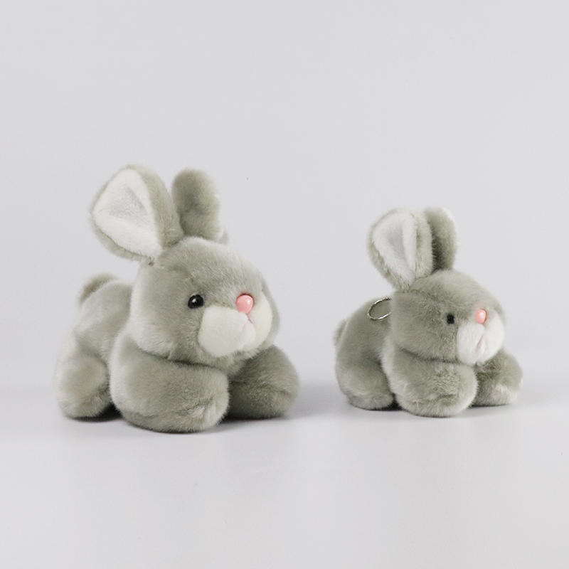 Custom Operated Soft plush rabbit toy  stuffed toy Present for girlfriends
