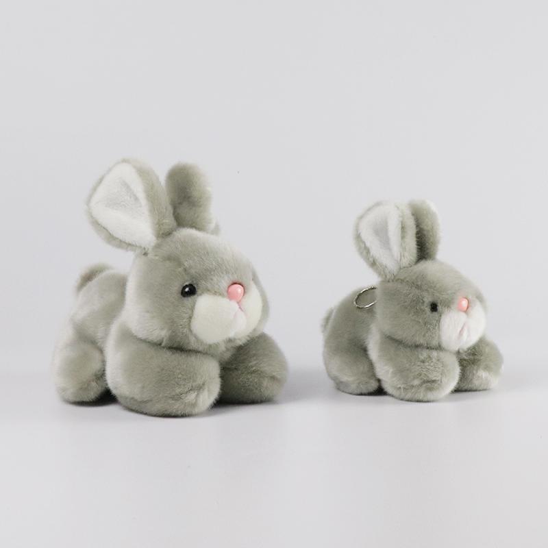 カスタム操作ソフトぬいぐるみウサギのおもちゃぬいぐるみガールフレンドのための本