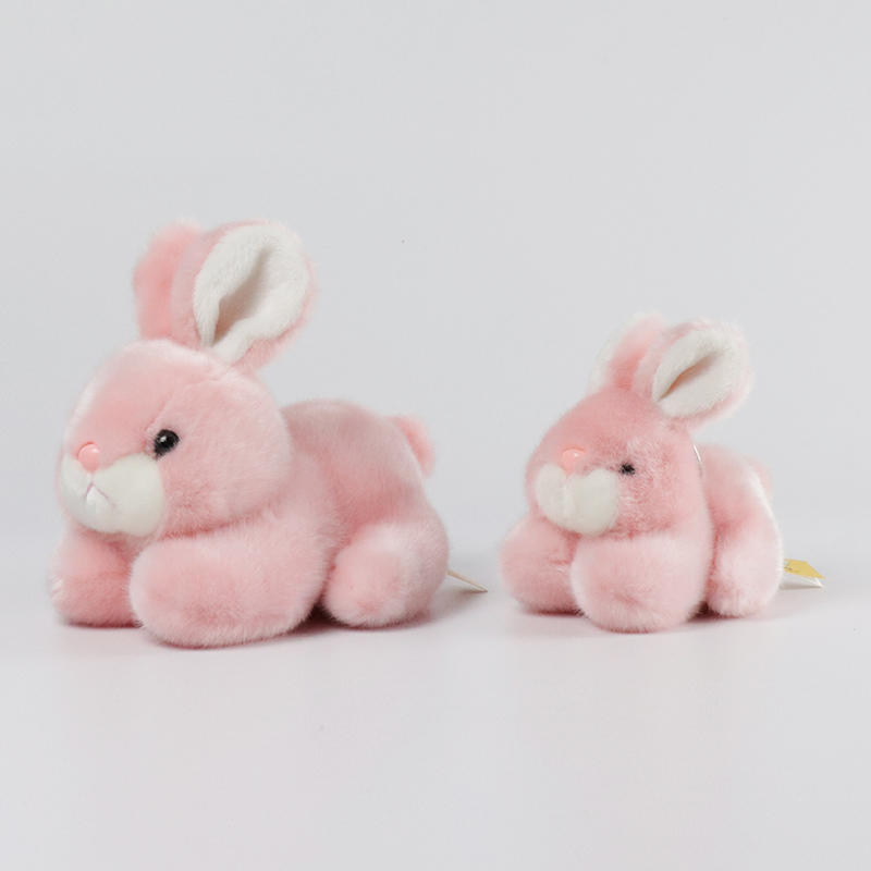 Custom Operated Soft Plush Rabbit Stuffed Animal Toy Present Wholesale