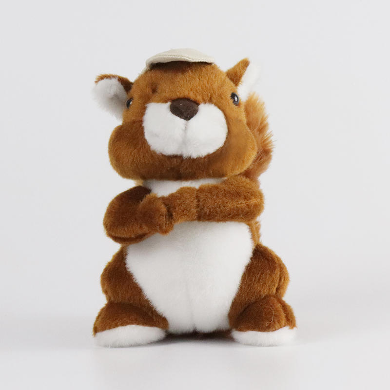 Squirrel Stuffed Animal Toys Gift Plush for Baby Doll Wholesale