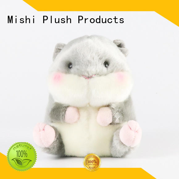 Mishi custom plush toys with t shirts for kids