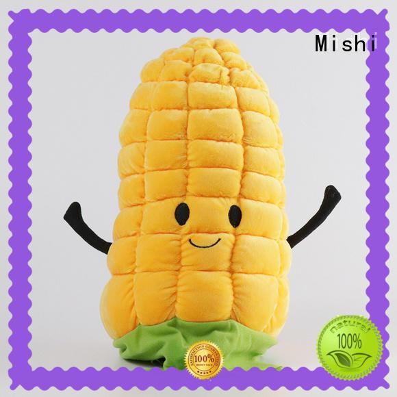 Mishi wholesale plush cushion hand warmer for gifts