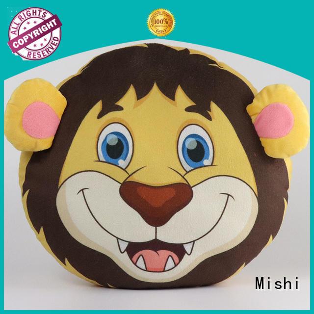 Mishi best custom plush cushion hand warmer for gifts