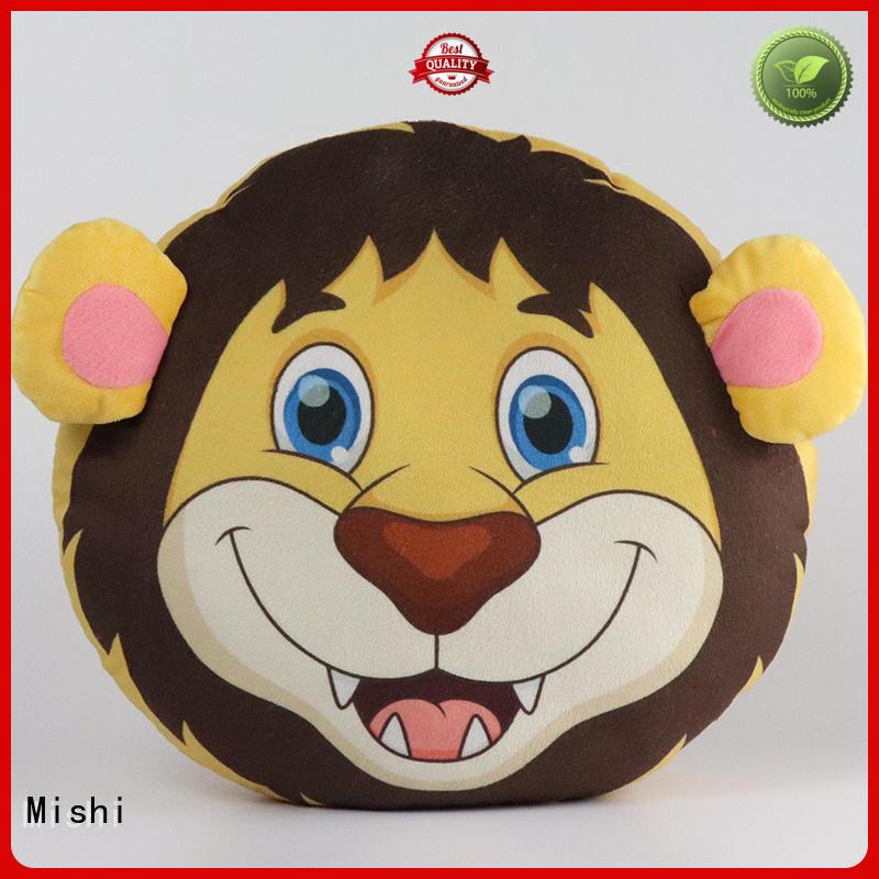 Mishi custom plush cushion manufacturers for home