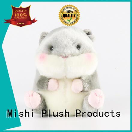 Mishi corgi plush toys wholesale with custom logo for gifts