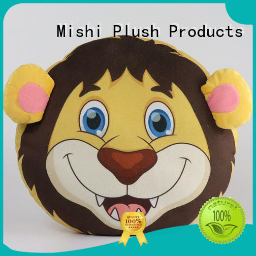 Mishi plush cushion covers factory for home