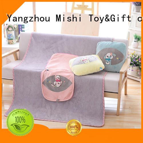 Mishi superior quality softest plush blanket supply for living room