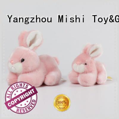 Mishi cute plush toys with custom logo for kids