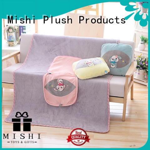 wholesale plush cushions with custom logo for prasents
