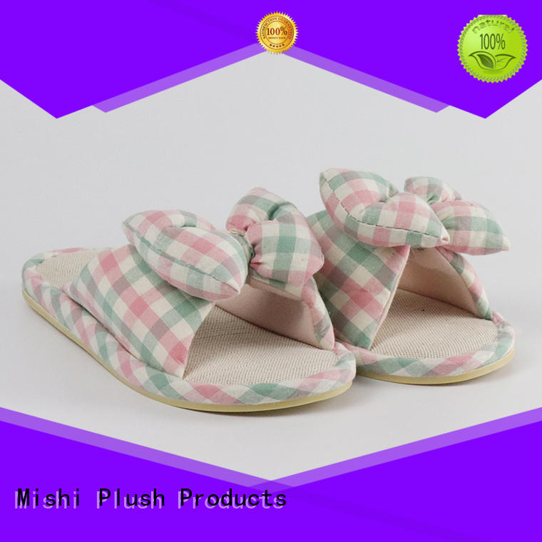 Mishi fast delivery best plush slippers supply for home